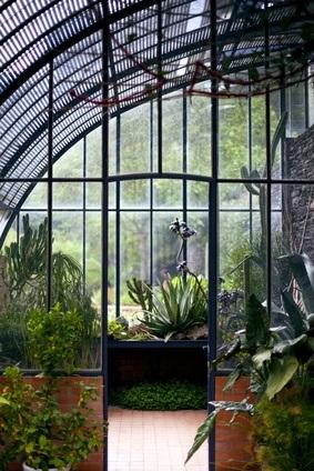 La serre de jardin en élément de déco d'extérieure ?